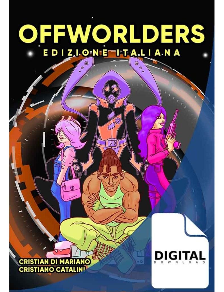 La copertina dell'edizione italiana di Offworlder