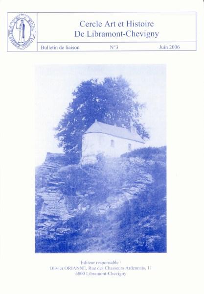 Bulletin de liaison n°3 – Juin 2006