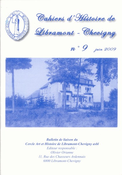 Cahier d'histoire de Libramont n°9 - Juin 2009