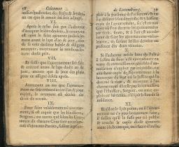 Coutumes Générales des Pays Duché de Luxembourg pages 58 - 59
