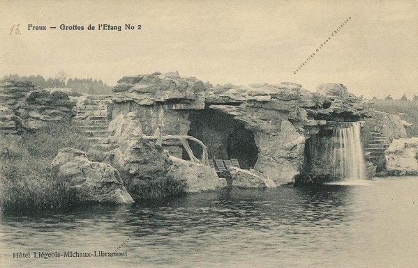Freux - Grottes de l'Etang - Collection Christian Giboux