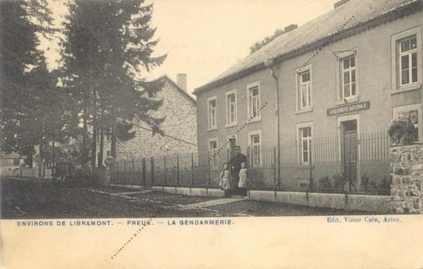 Freux - La gendarmerie - Collection Christian Giboux