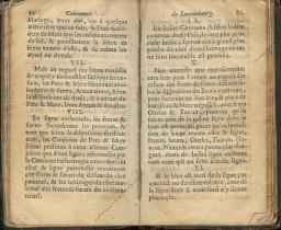 Coutumes Générales des Pays Duché de Luxembourg pages 80 - 81