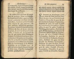 Ordonnance et Edit perpétuel des Archiducs pages 34 - 35