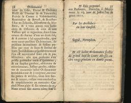 Ordonnance et Edit perpétuel des Archiducs pages 36 - 37