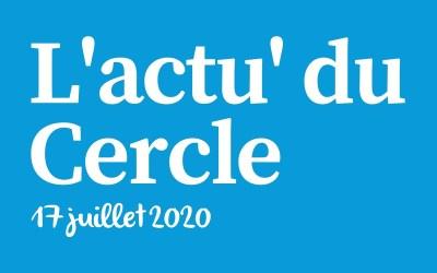 La lettre d'actu du Cercle Laïque Dijonnais du 17 juillet 2020