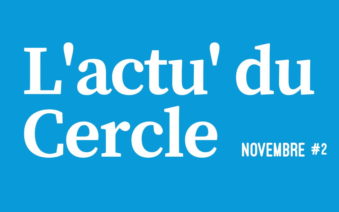 La lettre d'actu – Novembre 2/3