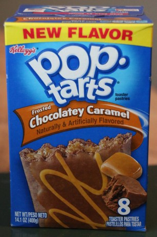 Image result for pop tarts chocolate caramel