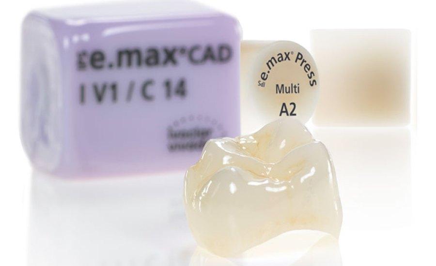 回應:e.max Press 與 e.max CAD 的邊緣密合度/強度比較? Reply: e.max Press v.s. e.max CAD