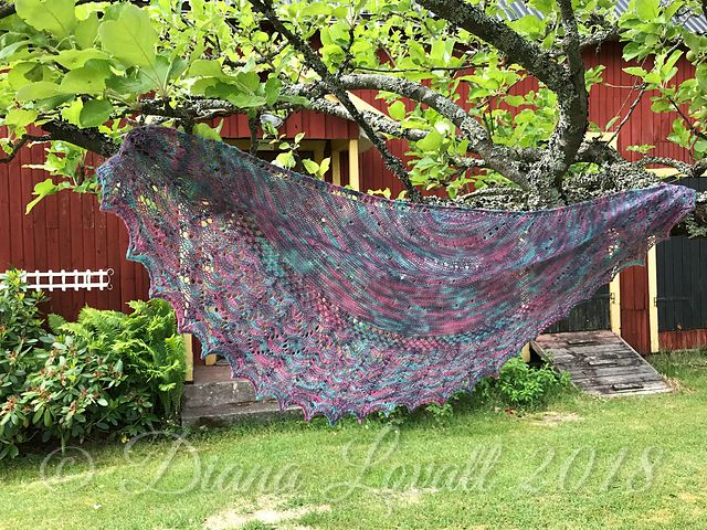 Kindness Shawl 2 Tree