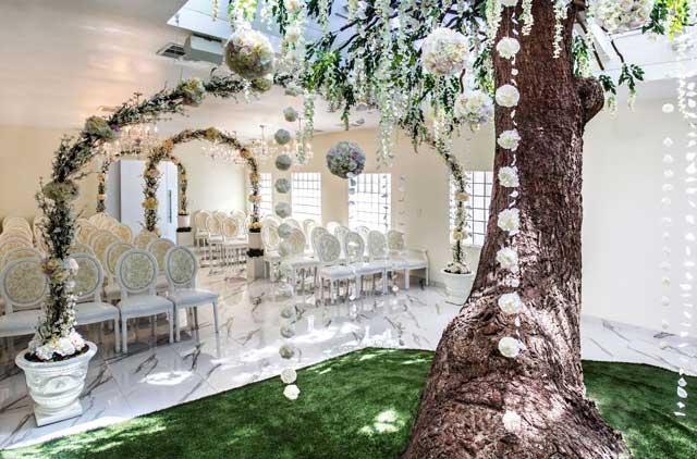 Vegas Wedding packages include Breathtaking-Indoor-Chapels