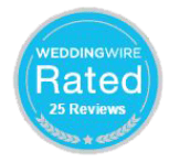 Wedding Wire 25 Reviews Badge