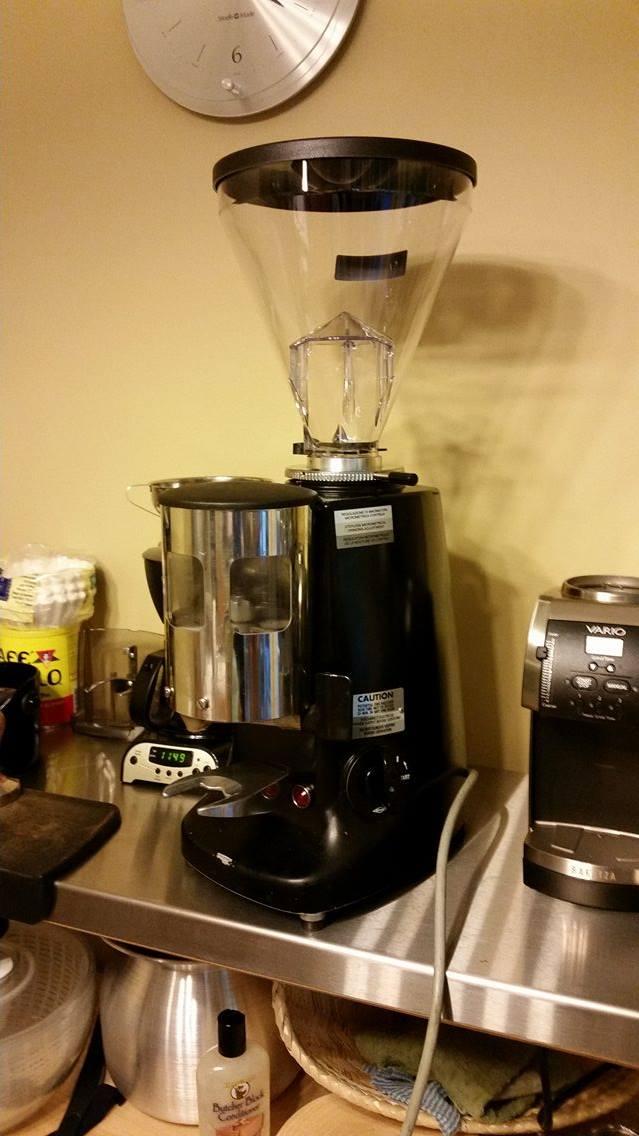 Used Mazzer Super Jolly Espresso Grinder Image