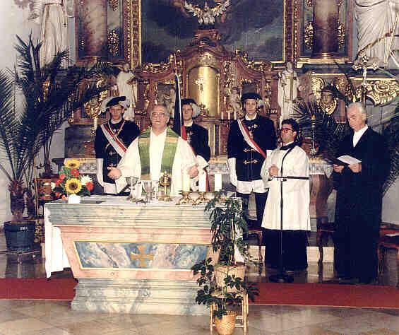 Bier-Gottesdienst Eisernes Kreuz