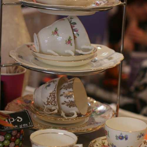 A Very Modern Tea Room