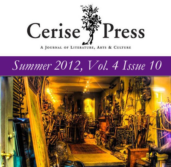 Cerise Press Vol. 4 Issue 10 Cover