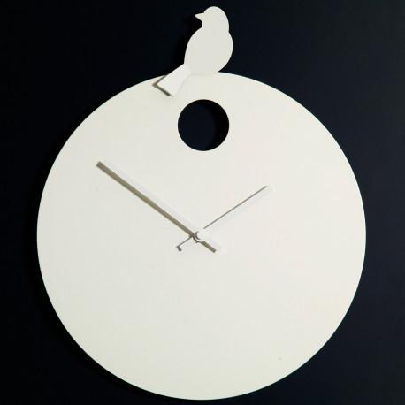 horloge free bird diamantini domeniconi horloge blanche oiseau blanc