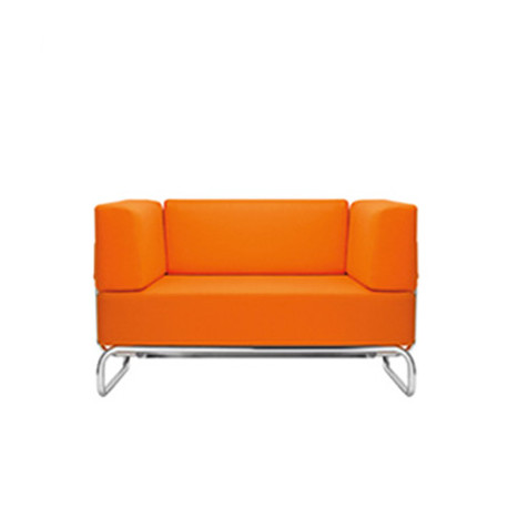 s5001 fauteuil design thonet orange