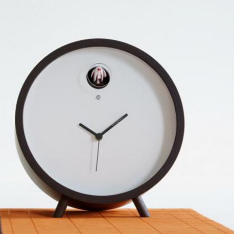 horloge lumineuse a poser plex diamantini domeniconi noir