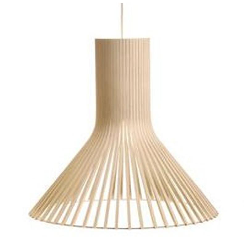 suspension design puncto 4203 secto design bois naturel