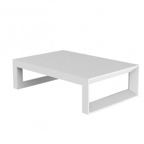 table basse frame 120 cm vondom blanc mat