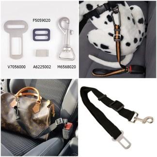 Kit cintura sicurezza auto cani / borse