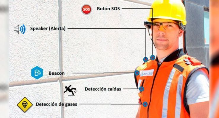 Un chaleco 'inteligente' que protege a los trabajadores