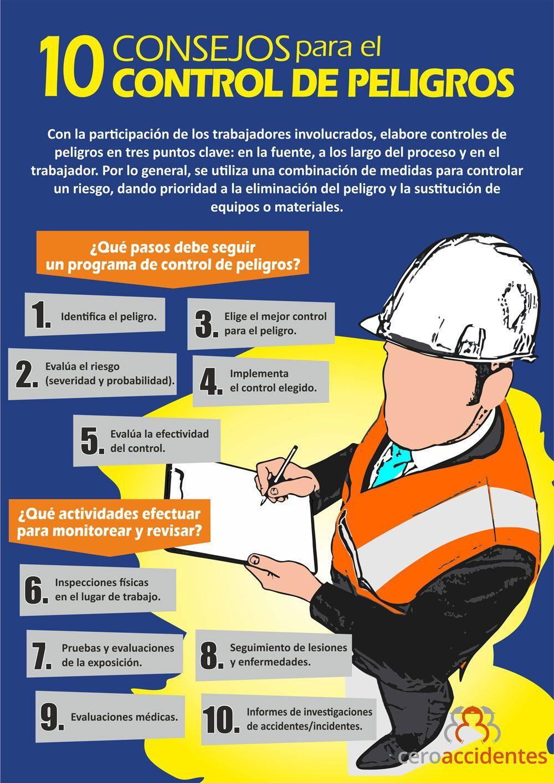 10 consejos para el control de peligros