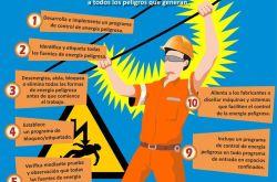 10 Consejos para prevenir accidentes con energía peligrosa