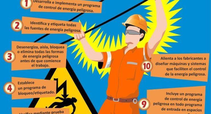 Consejos para prevenir accidentes con energía peligrosa