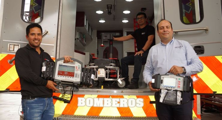 AASACI experiencia en vehículos de emergencia médica y rescate