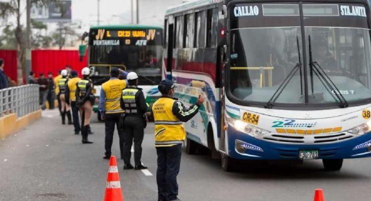 Publican protocolo de higiene para el transporte público en Lima y Callao