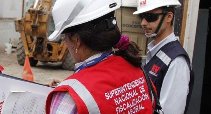 Sunafil ejecuta más de 6,000 órdenes de seguridad y salud en el trabajo