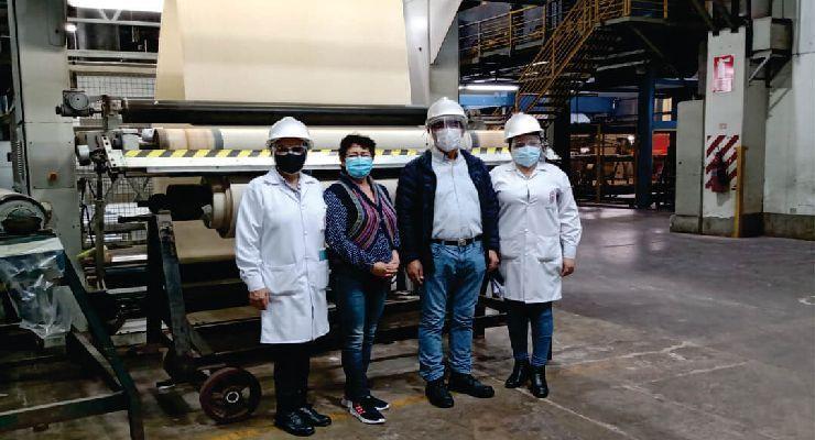 Inician producción industrial de telas antivirales gracias a proyecto de la UNI