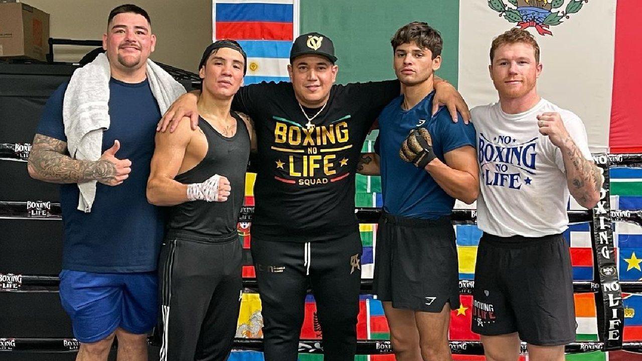 Estos son los boxeadores integrantes del Team Canelo