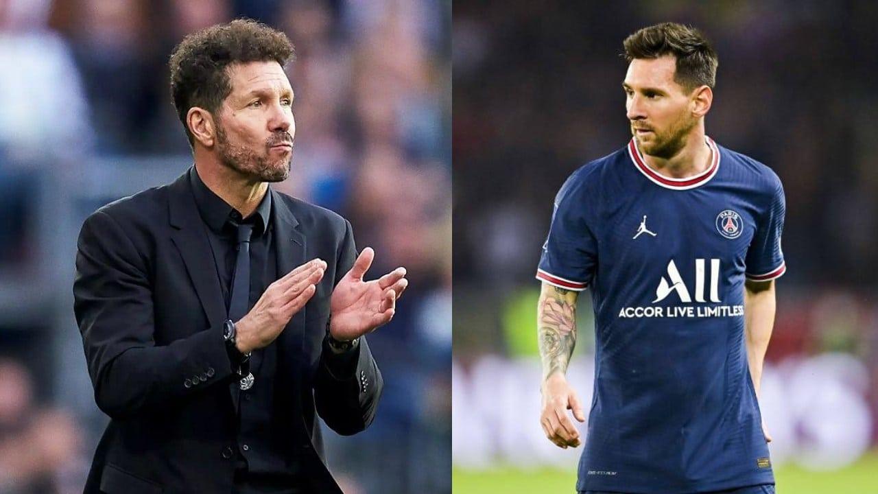 Lionel Messi Atlético de Madrid