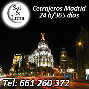 El mejor servicio de cerrajería en Madrid | 601441167