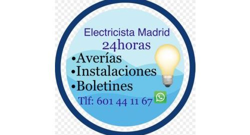 Por encima de todo los Electricistas Madrid 24 Horas como Sol y Luna Tel 601441167 WhatsApp ✅ .Ofrecemos tranquilidad a los clientes en cuanto a los trabajos que Realizamos las 24 Horas .