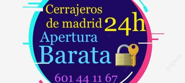 Cerrajero Serrano 601441167