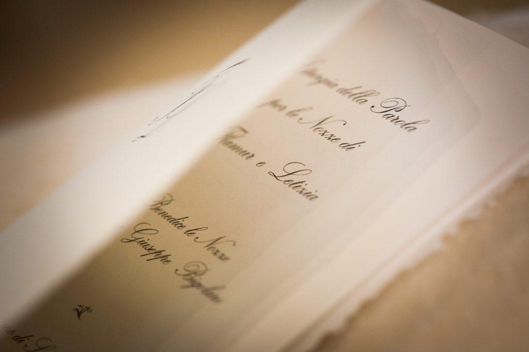 Wedding stationery in Casta d'Amalfi | CerroneNozze wedding stationery