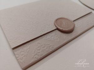 wedding stationery stampa a caldo hotfoil letterpress | Cerrone Nozze wedding boutique