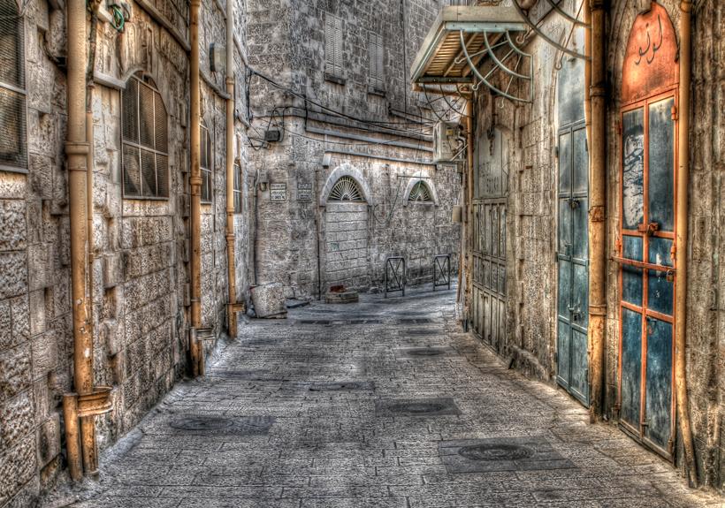 Ali_Elhajj_A_Street_in_Jerusalem