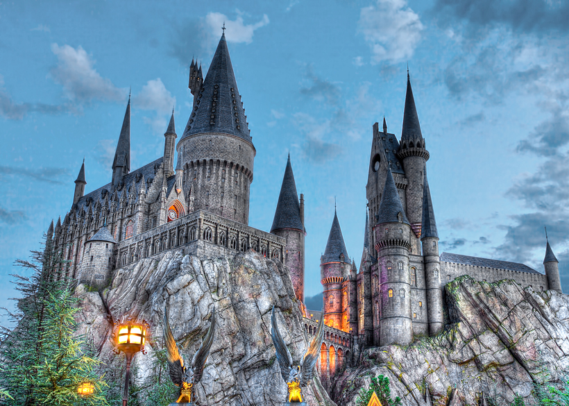 Harry Potter at Universal Studios