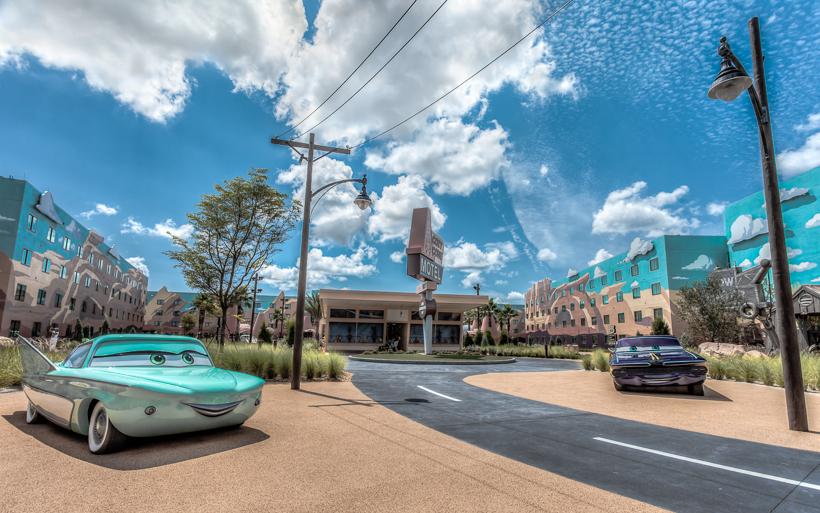 Radiator Springs At Disney's Art of Animation Resort