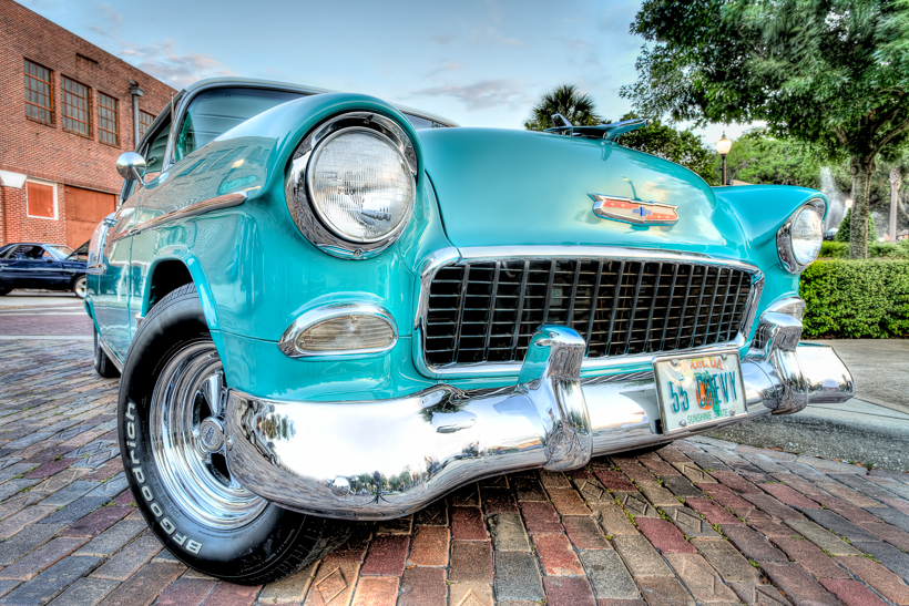 1955 Chevy Bel Air - created with Photomatix, Lightroom, Photoshop & Topaz Clarity