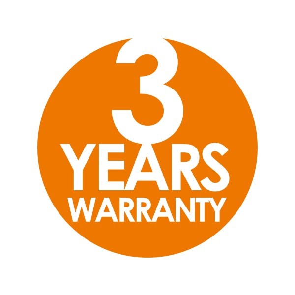 3 Years warranty on UPS System