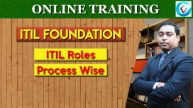 Process Wise ITIL Roles ITIL v3