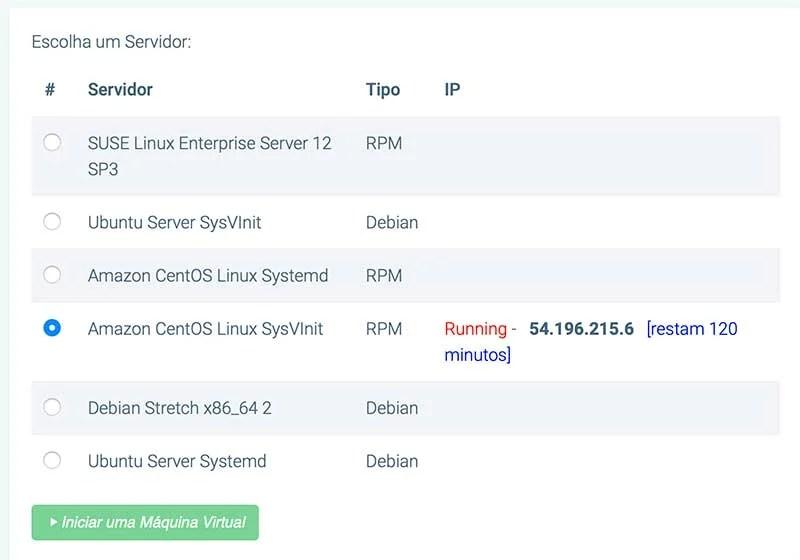 servidor Certificação Linux