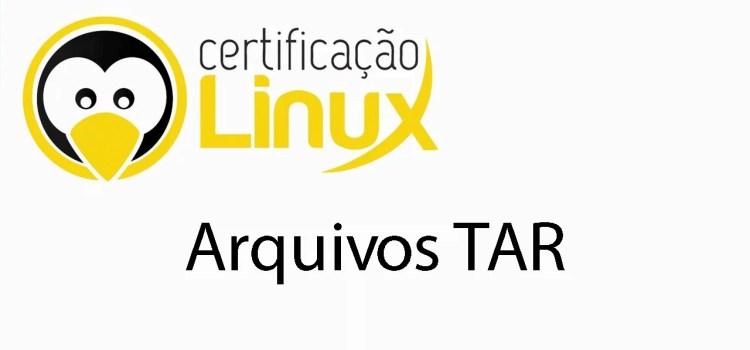 Trabalhando com o tar no linux