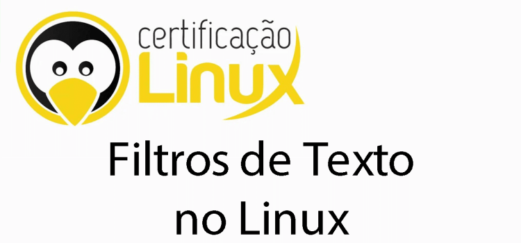 Utilizando filtros de texto no Linux